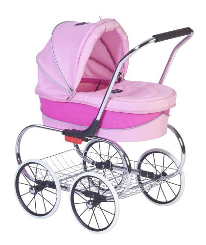 "Just Like Mum"" Princess Doll Stroller - Pink"