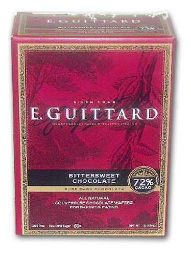 COUV WAFER 72% CACAO BTRSWT BOX 1# GUITTARD - Package