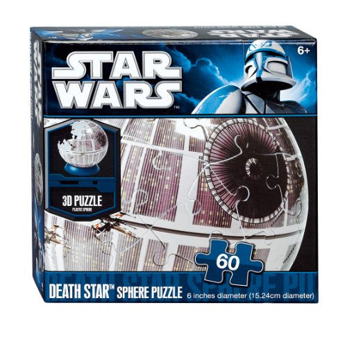 LICENSED 60 PIECE SPHERE PUZZLES - Star Wars Death Star Sphere 60pc