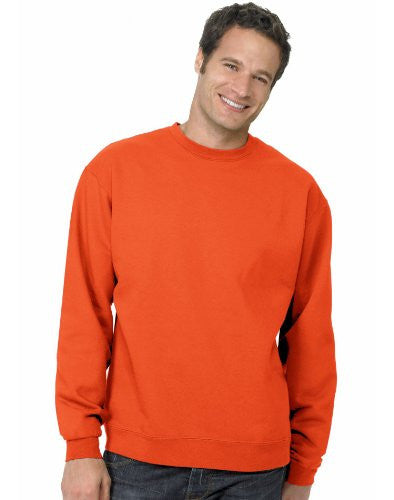Hanes ComfortBlend Long Sleeve Fleece Crew - p160 (Orange / XX-Large)