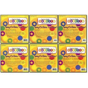 4th Grade Math Learning Palette 6 Pack