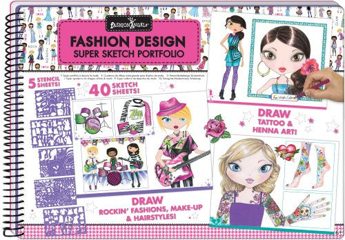 Fashion Design Super Sketch Portfolio