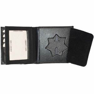 Badge Wallet 2517TA - Black