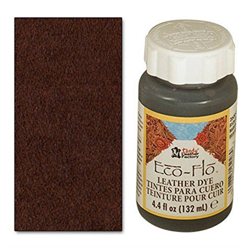 Eco-Flo Leather Dye - Bison Brown (4oz)