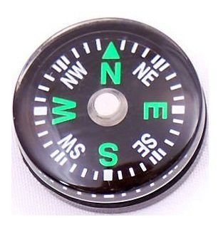 Compact Tracker Button Compass