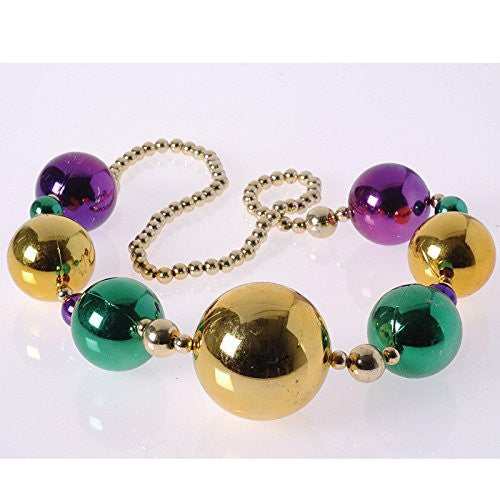 MARDI GRAS BALL NECKLACE/70MM
