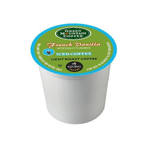 Green Mountain Coffee French Vanilla Iced Coffee K-Cup