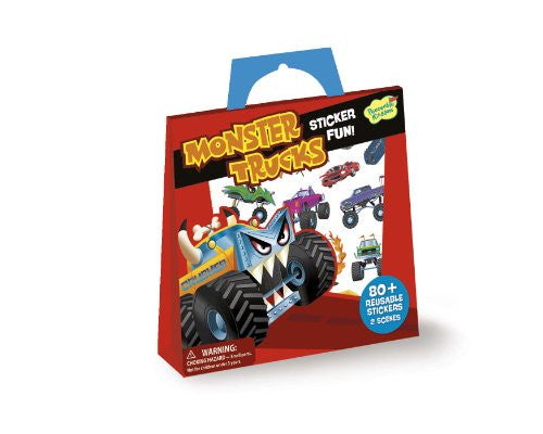 MONSTER TRUCKS STICKERS