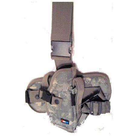 ACU Digital Camouflage Drop Leg Gun Holster Right Handed