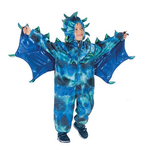 Sully the Dragon Jumpsuit w/ Attached Wings XS(4)