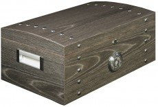 "Ashwood Chest Humidor - 120 Count (15"" x 10-1/2"" x 7"")"