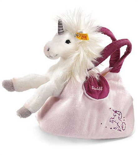 Starly Unicorn With Hand Bag, Wht.,9.5""