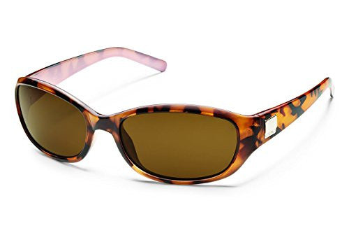Iris Tortoise with Brown Polarized Polycarbonate Lens
