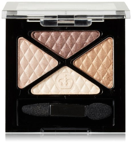 Glam'Eyes Quad Eye Shadow, Smokey Brun