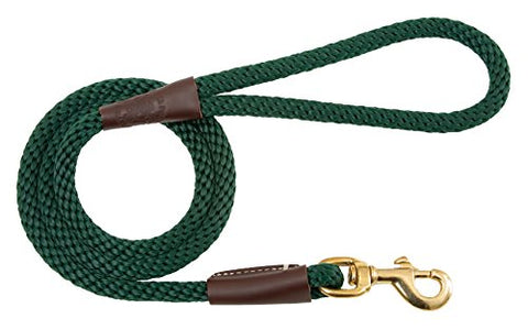 Mendota Products Snap Leash (Color: Hunter Green Size:)