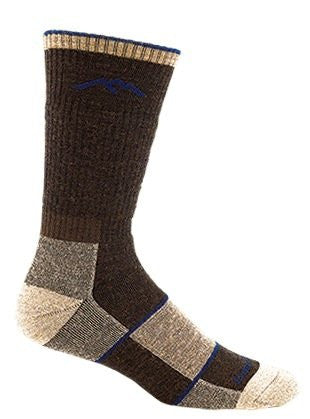 Men's Boot Sock Full Cushion - Chocolate L