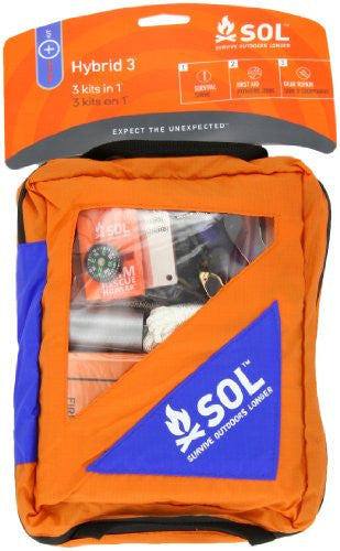Adventure Medical Kits Sol Hybrid 3, 1-Pound, 4.6 oz