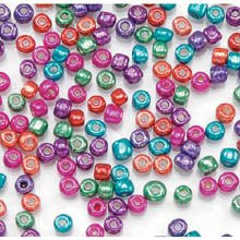 E Beads - Assorted Metallic Colors - 6/0 - 100 grams - Big Value