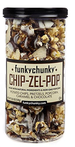 Chip-Zel-Pop, Tall Canister, 20oz