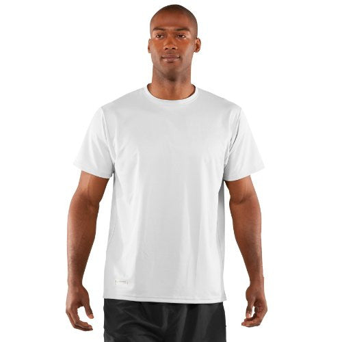 Heatgear Tactical Short Sleeve Tee - White, Large