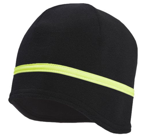 Action Contour Hat, black, day glo HyperReflect
