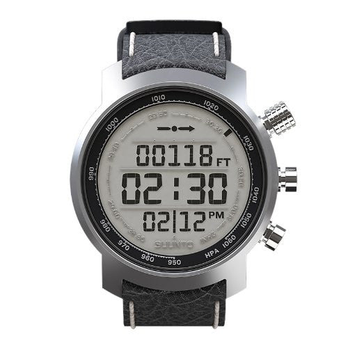 Elementum Terra Sports Watch Black Leather