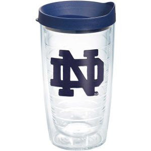 Collegiate Notre Dame, University of Blue ND 16oz Tumbler