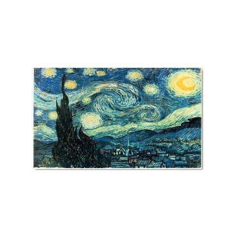 Starry Night By Vincent Van Gogh Magnet