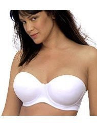 Seamless Molded Cup 5 Way Convertible Bra 42C, White
