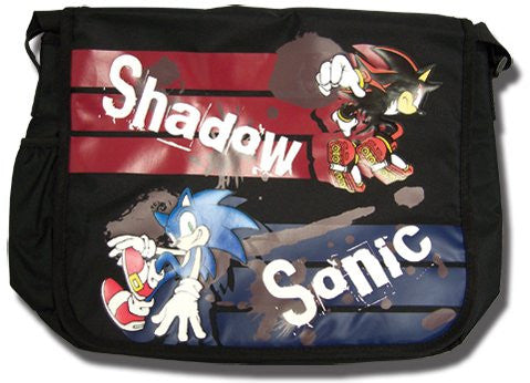 Sonic The Hedgehog Sonic And Shadow Messenger Bag