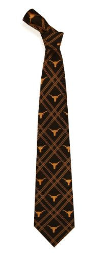 Texas Longhorns Woven Polyester 2 Adult Tie from Eagles Wings
