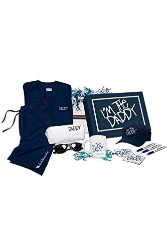 Daddy Swag Scrubs Blue Edgy Gift Box, Large