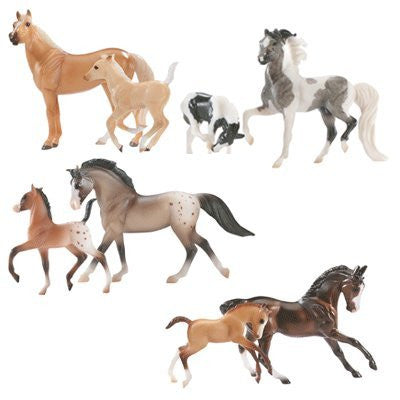 Breyer Stablemate Horse & Foal Sets Assorted