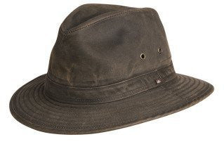 Crushable Weathered Safari Hat - Loden, XX-Large