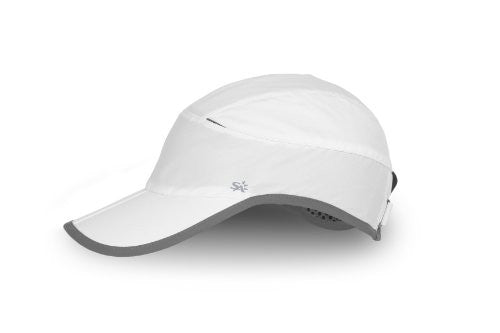 Eclipse Cap, White, Medium