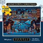 Hometown Christmas 500 Pieces Box Puzzles, 16x20 inch