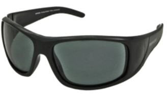 Dry Dock Shiny Black, Smoke TAC-Tical Polarized w. Flash Mirror
