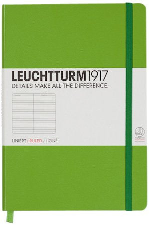 LEUCHTTURM LARGE BOOK LINED GREEN