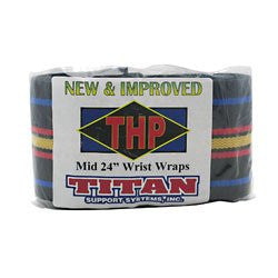 Titan Support Systems High Performance Mid 24 in. Wrist Wraps -