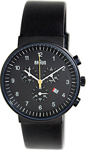 Braun Classic Chronograph Analog Display Quartz Black Watch