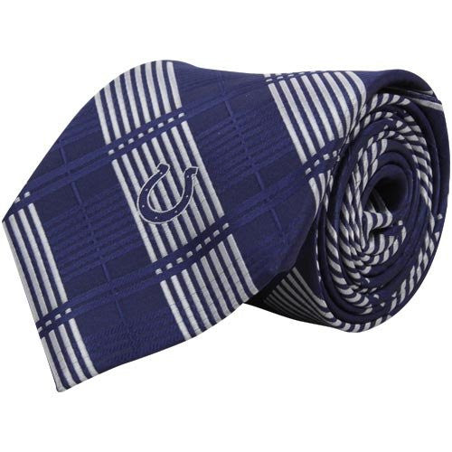 Indianapolis Colts Tie Woven Plaid