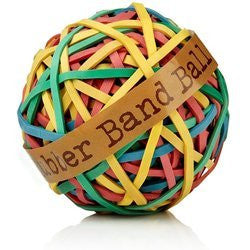 Rubber Band Ball/2.75 Inch