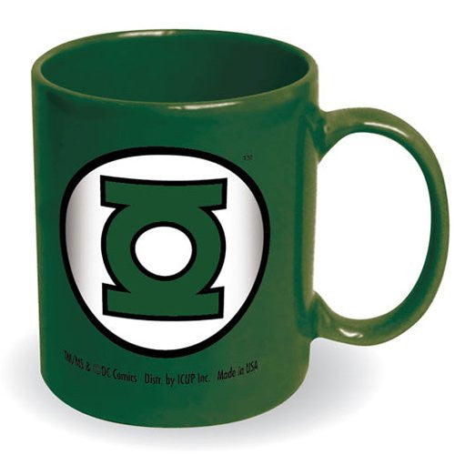 DC Comics Green Lantern Logo 12 Ounce Coffee Mug