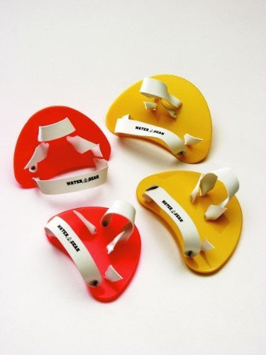 Water Gear Finger Paddles (Senior (Yellow))