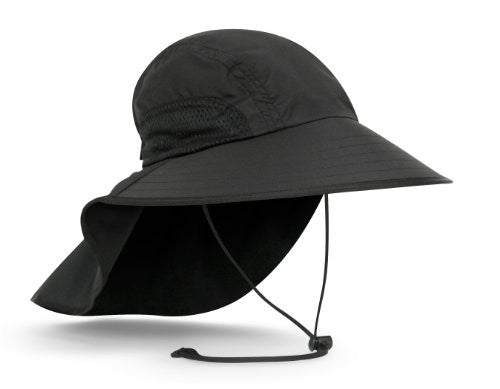 Adventure Hat, Black, Medium