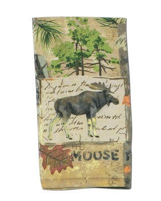 WILDERNESS TRAIL, MOOSE TERRY TOWEL