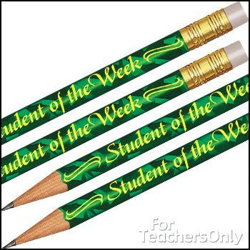 Foil Student Of The Week Pencils