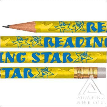 Foil Reading Star Pencil