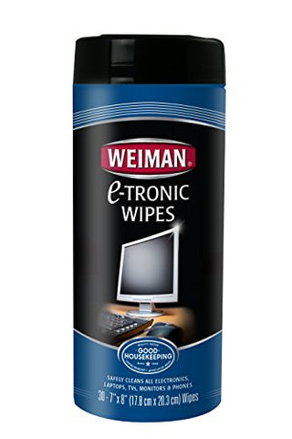 Weiman E-Tronic Wipes, 30 Count