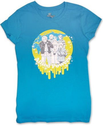 Hetalia Crew Girl T-Shirt XL